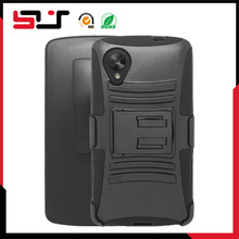 Combo belt clip holster phone mobile case for lg nexus 5