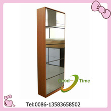 Mirrored shoe rack designs wood
