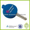 Custom soft keychain PVC promotional rubber key covers