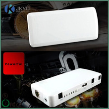 Newest 12000mah mini portable multi function 12V emergency car rechargeable jump starter and alternator car battery