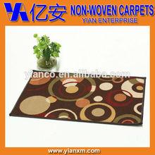 Classical printed anti-slip raising area rugs