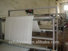 Carpet underlayer or underlayment EPE foam machine plant