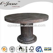 Antique One leg Round table CZ-010