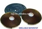 bentonite and bitumen waterstop swellable rubber strips