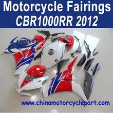 Classic Design For Honda CBR1000RR 2012 Hrc Red Aftermarket Motorcycle Plastics FFKHD022