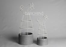 Interesting new design marble vase, resin flower vases