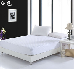 High-end waterproof elastic fitted sheet, hotel/hospital white mattress cover