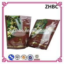 Custom printed ziplock bag for snack food / frozen food