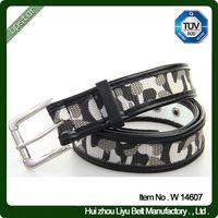 Custom printed web belt military cotton web belts