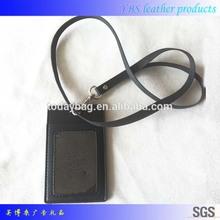 black vinyle work card holders