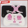 4CM CX-10 6 Axis gyro LED Mini Drone RC flying santa claus toy