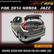 For 2014 Honda fit roof spoiler