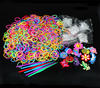 free loom diy silicone bracelet elastic loom rubber band bracelet