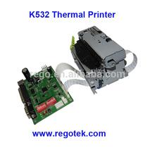 Coin-operated kiosk with printer 80mm kiosk ticket printer K532