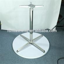 4 star legs metal table base
