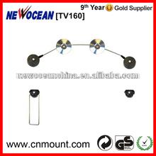 N - TV 160 max load 125lbs black wall display stand tv bracket