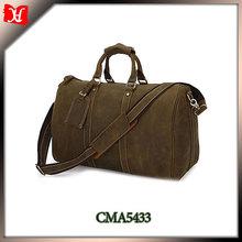 2014 fashion shoulder travel bag,real leather travel bag,travel shoulder bag for men