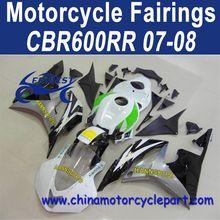 Retail For Honda CBR600RR 07 08 Hannspree With Race Front Cheap Fairings FFKHD009
