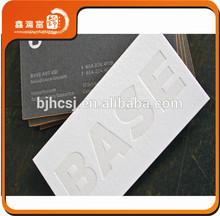 XHFJ-B-BCC8 colored edge printing luxury letterpress card printing