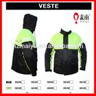 adult unisex polyester rainwear high quality motorcycle rain suits