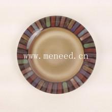 custom design melamine plates dishes