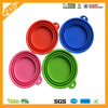 Factory Wholesale BPA Free Silicone Disposable Folding Dog Bowls