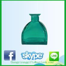 250 ml reed diffuser bottles dark green olive oil glass bottle custom