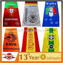 100% Cotton High Quality Super Cheap Bath Towels World cup