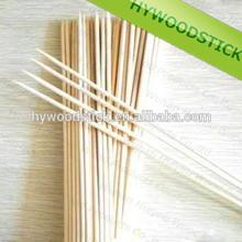 Wholesales Disposable Natural Bamboo Flat BBQ Stick