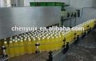 Hot fruit juice filler and pasteurization