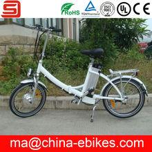 Kids electric pocket folding bikes with EN15194(JSE20-42)