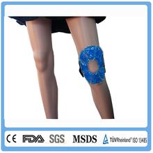 Gel beads reusalbe ice pack for knee