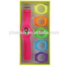 YB 9001 silicone rubber strap cartoon wrist watch gift set