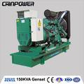 150kva/120kw volvo tipo aberto gerador diesel powered by motor volvo tad731ge e reino unido stamford 50hz 3 fase