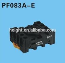 plug-in relay socket/omron relay socket/electrical relay socket PF083A-E