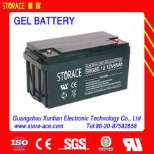 Colloid battery 12v 65ah Gel Accumulators