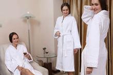 Hot style Women bathrobe Ladies Robe Soft Fleece nice women Dressing Embroidered Nightgowns