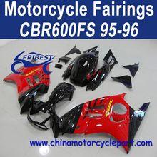 Classic Design For Honda CBR600FS 95 96 Red Black Fairing Kits FFKHD002