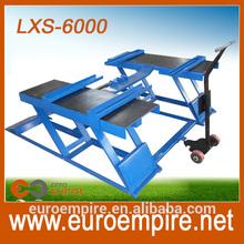 China professional car scissor lift/lifting vehicles