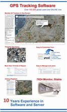 Satellite Web Based Server GPS Tracking School Management Software