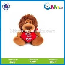 Factory wholesale plush lions ,customized plush toy