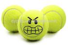 High bounce tennis balls