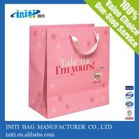 2014 cheap wholesale ribbon tie gift bags