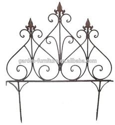 garden outdoor supplies decorative iron fence,metal fence,small garden fence