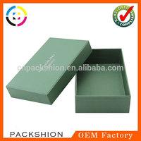 China Dongguan Factory Paper Garment Suit Boxes