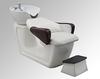 Professional salon furniture backwash shampoo units