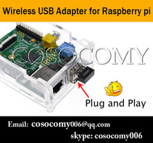 Wireless wifi network usb adapter for Raspberry pi accessory with plug and play function