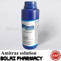 Amitraz pesticidas 12.5% solução