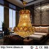 C99024 alabaster chandelier lighting ,crystal ceiling led lamp ,glass leaf chandelier