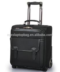 16 inch 2 wheels & 4 wheels nylon swiss polo luggage of travel luggage